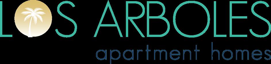Located Near Amazing Del Mar Beaches, CA. Los Arboles Apartments Logo